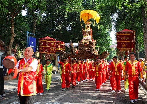 Hanoi celebrates 590 years since King Le Thai To's coronation hinh anh 1