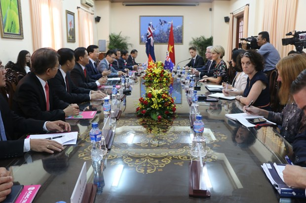 VN key partner of Australia in Asia-Pacific: Minister Bishop hinh anh 1