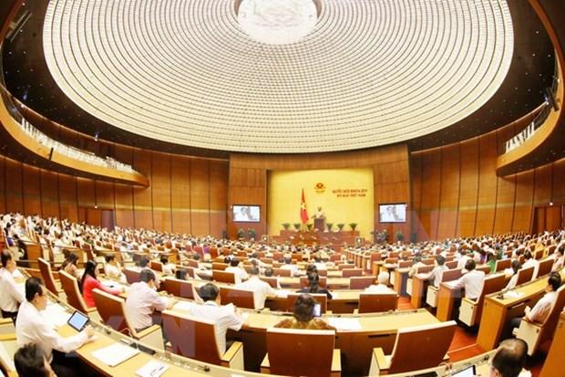NA reviews socio-economic development, state budget plans hinh anh 1