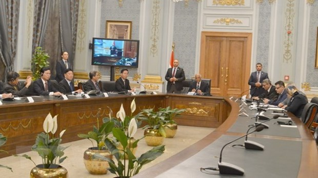 Egypt's leaders vow to help VN boost ties with Middle East, Africa hinh anh 1