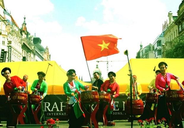 Vietnam impresses Prague international art festival hinh anh 1