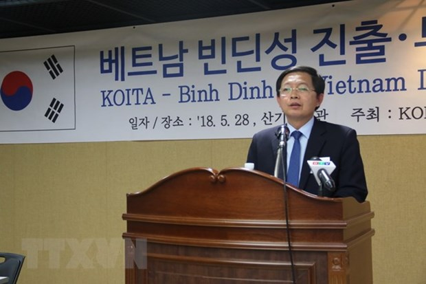 Binh Dinh province calls for RoK investment hinh anh 1