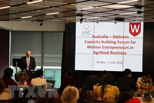 Australia-Vietnam forum increases capacity for female entrepreneurs hinh anh 1