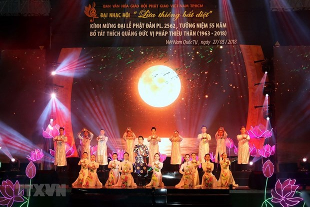 Lord Buddha's 2,562nd birthday celebrated in HCM City hinh anh 1