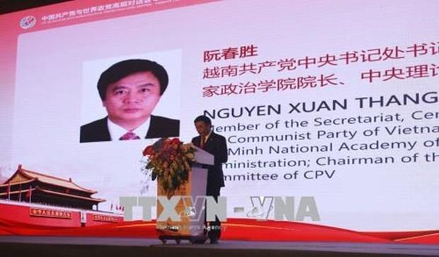 Party delegation visits China's Guangdong province hinh anh 1
