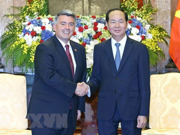 US always important partner of Vietnam, says President hinh anh 1