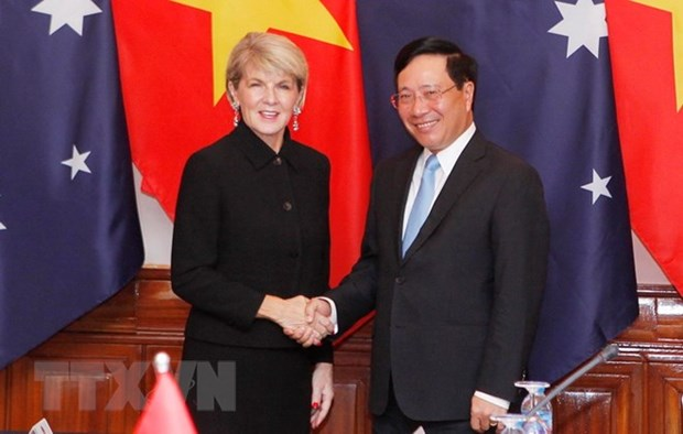 Australian gov't considers Vietnam one of partners in Asia Pacific hinh anh 1