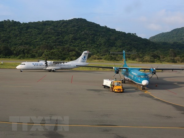 Schedule of flights to/from Con Dao adjusted hinh anh 1