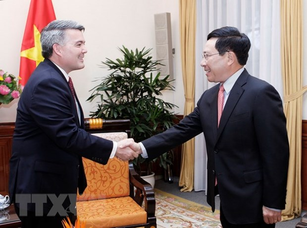 Vietnam wants to strengthen cooperation with US in regional mechanisms hinh anh 1