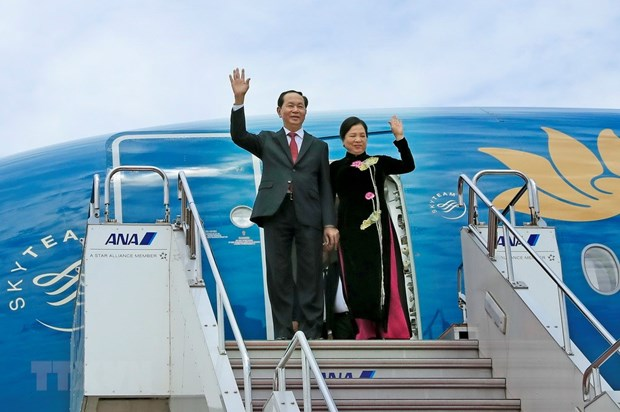 President's visit to Japan expected to lift two-way trade hinh anh 1
