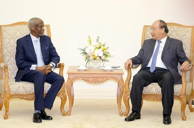 PM welcomes new Sudanese ambassador hinh anh 1