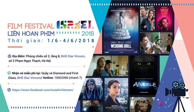 Israel Film Festival to take place in Hanoi hinh anh 1