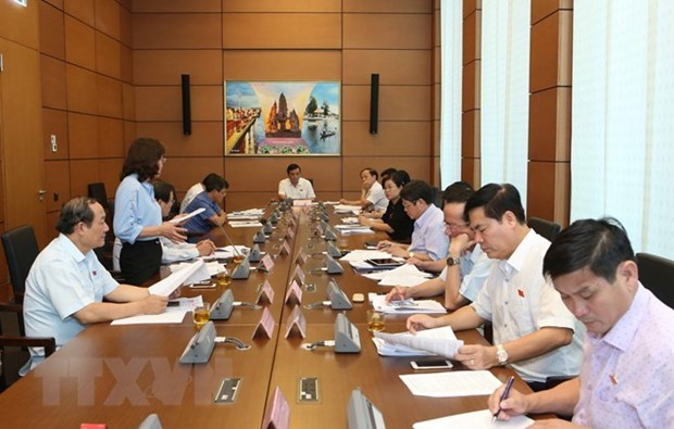 Law building programme tabled for discussion at NA hinh anh 1