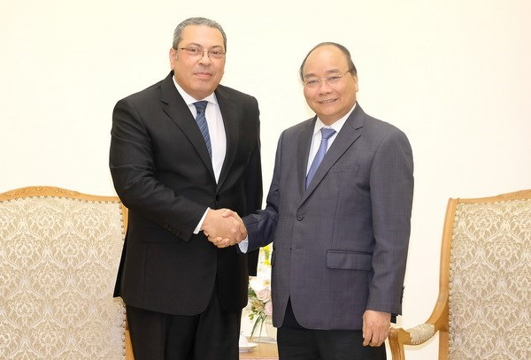 PM: Vietnam values traditional friendship with Egypt hinh anh 1