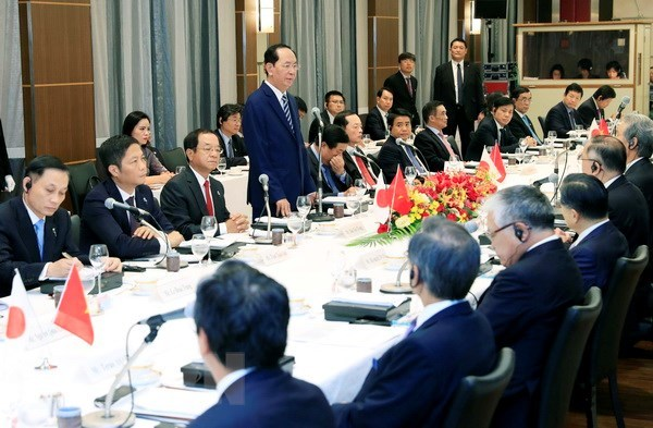 Vietnam rolls out carpet for Japanese investment: President hinh anh 1