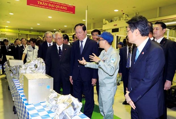 Japanese media highlight Vietnamese President's visit hinh anh 1