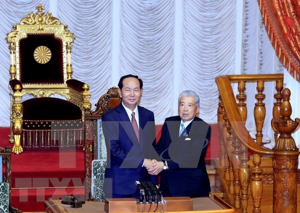 President meets Speaker of Japan's House of Councillors hinh anh 1