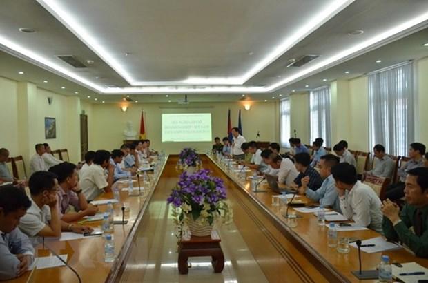Vietnamese firms contribute to Cambodia's development: Ambassador hinh anh 1