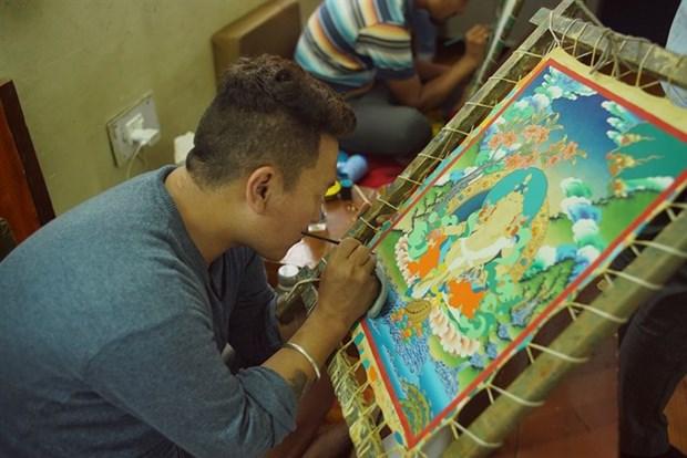 Himalayan thangka art to be showcased in Vietnam hinh anh 1