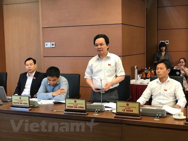 NA deputies debate revised Anti-Corruption bill hinh anh 1