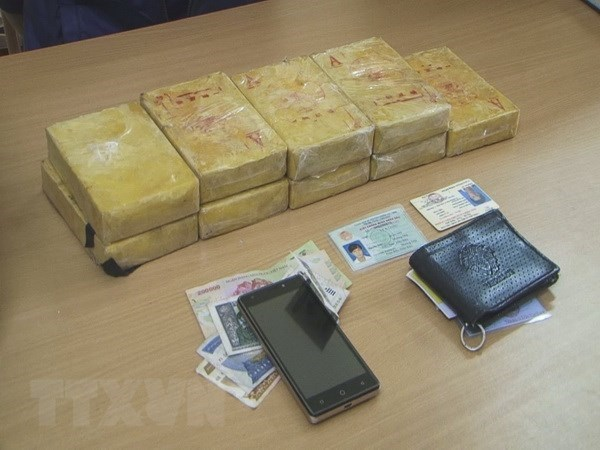 Trafficker of 3.5kg of heroin arrested in Dien Bien hinh anh 1