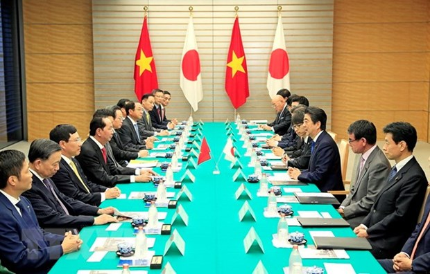 Vietnam, Japan issue joint statement hinh anh 1