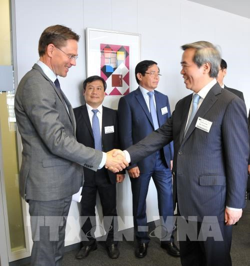 Vietnamese official lauds ties with EU hinh anh 1