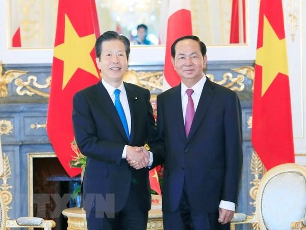 President receives Japan's Komeito Chief Representative hinh anh 1