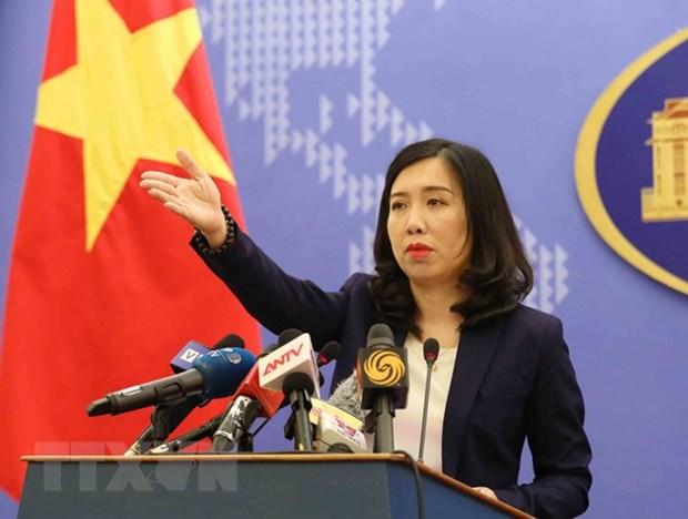 Vietnam condemns China's violations of national sovereignty at sea hinh anh 1