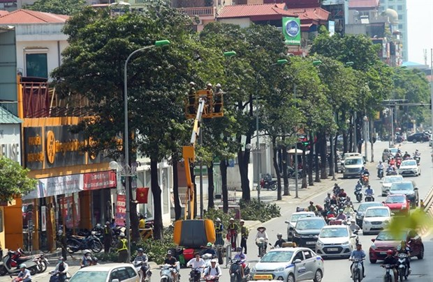 Hanoi's air quality improves hinh anh 1