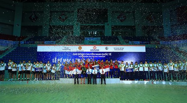 Vietnam wins bronze medal at international volleyball tourney hinh anh 1