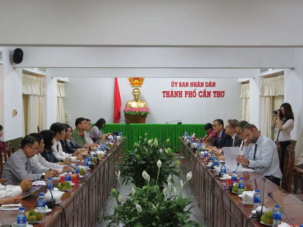 Nordic nations seek opportunities for cooperation with Can Tho hinh anh 1