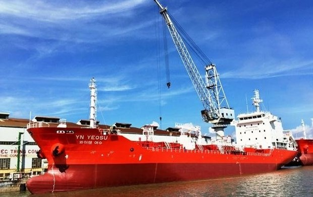 Pharung Shipyard delivers first oil tanker to RoK partner hinh anh 1