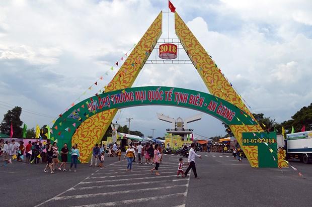 Tinh Bien – An Giang international trade fair opens hinh anh 1