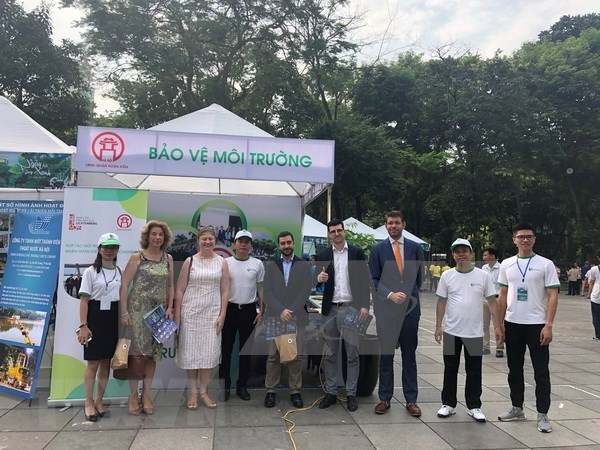 Hanoi hailed for environmental protection efforts hinh anh 1