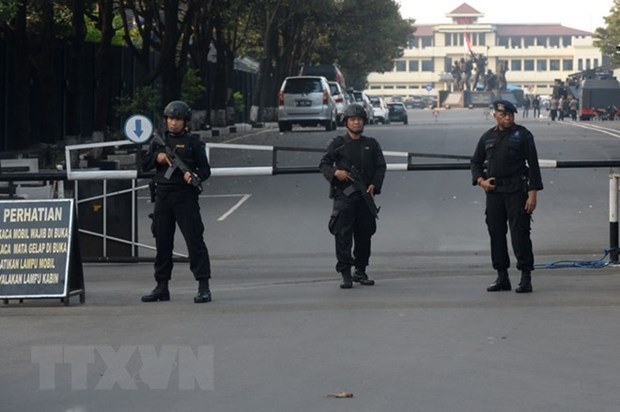 Indonesian police foil terror plot in university campus raid hinh anh 1