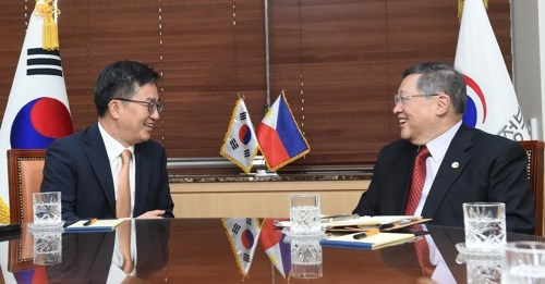 RoK, Philippines agree to accelerate RCEP conclusion hinh anh 1