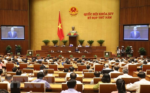 NA's plenary session focuses on land management, labour issues hinh anh 1