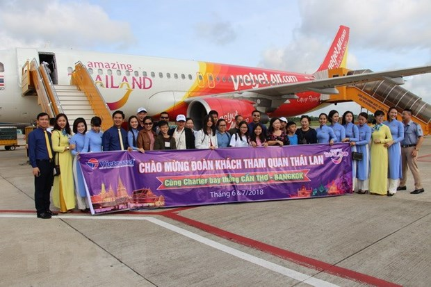 Can Tho-Bangkok direct air route launched hinh anh 1