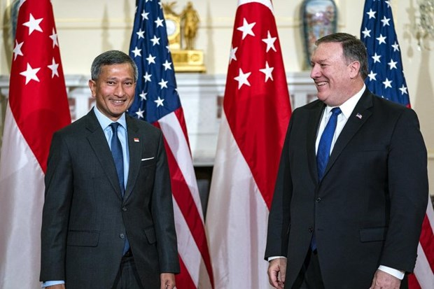 US appreciates Singapore's role as host of US-DPRK Summit hinh anh 1