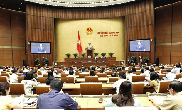 Lawmakers discuss bills on public security, animal husbandry hinh anh 1