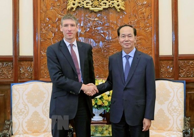 Vietnam, UK should utilise cooperation potential: President hinh anh 1