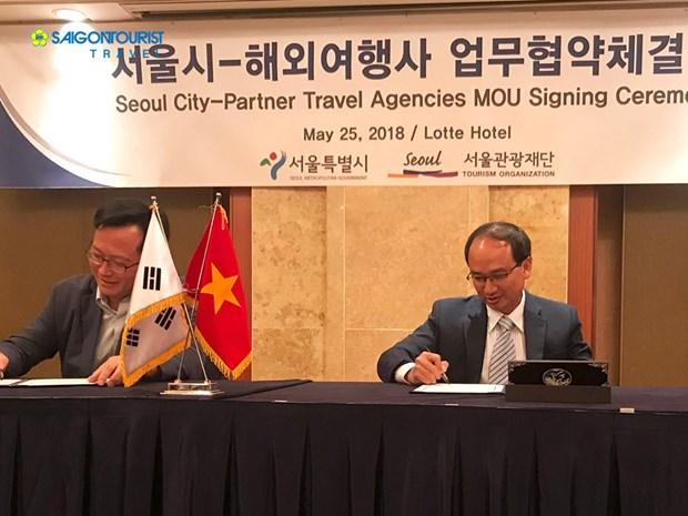 Saigontourist teams up with Seoul authority hinh anh 1