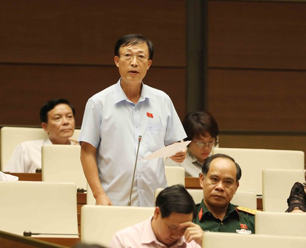 NA's working day on June 8 centres around law making hinh anh 1