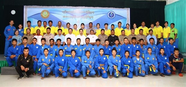 Myanmar introduces vovinam in six national sport academies hinh anh 1