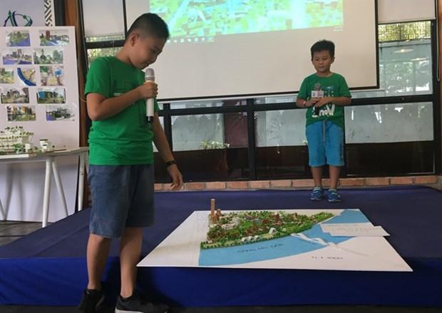 Children design smarter, child-friendly city hinh anh 1