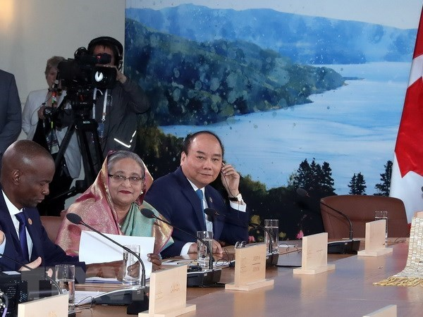 VNA's article on Vietnam's G7 Summit participation published in Canada hinh anh 1