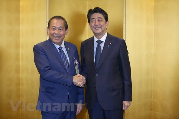 Vietnam, Japan enjoy sound strategic relations: Deputy PM hinh anh 1