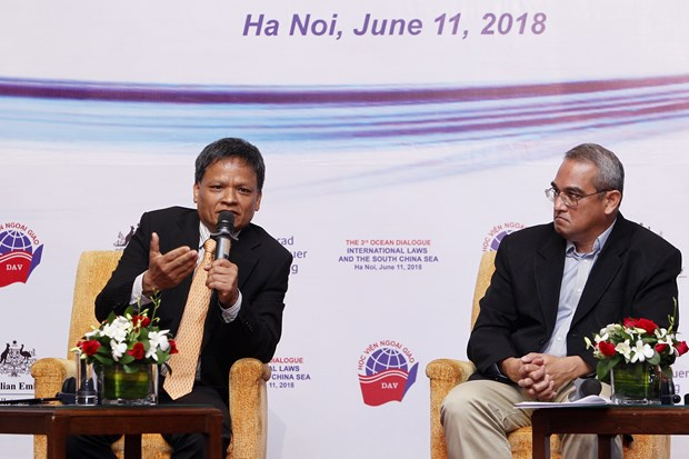 Ocean dialogue seeks ideas for cooperation, dispute management hinh anh 1