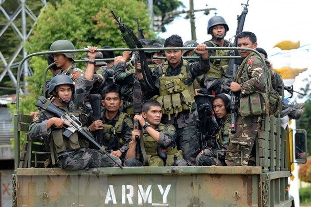 Philippine security forces launch raid on militants in southern region hinh anh 1